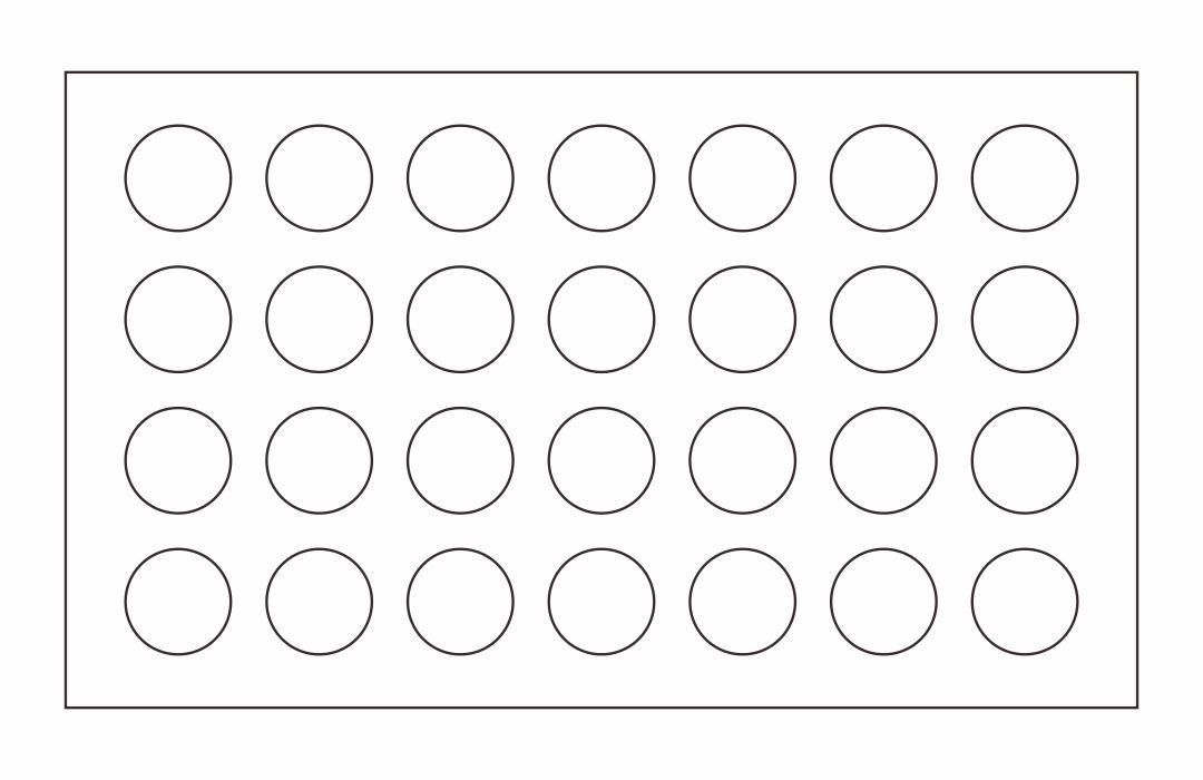 Printable Macaron Template