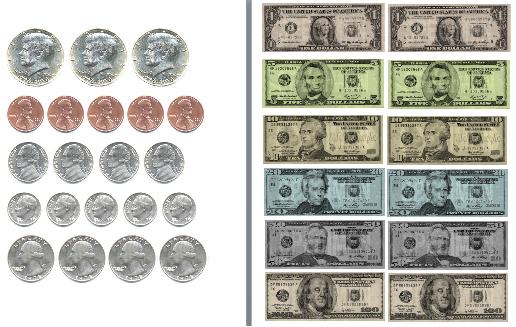 Printable Money – 2017 Calendar