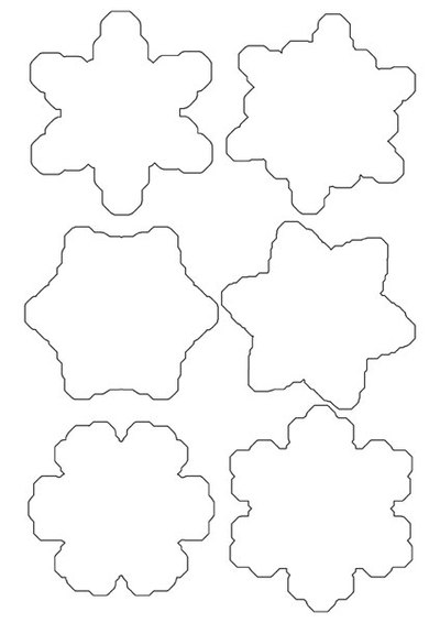 snow templates