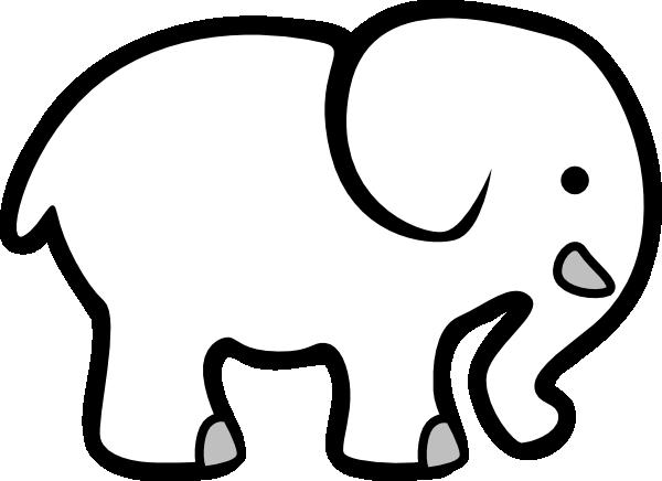 White Elephant Gift Clip Art