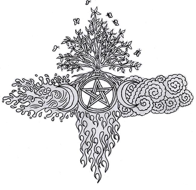 pagan yule coloring pages - photo #30