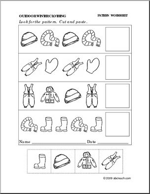 6 Best Images of Pattern Cutting Worksheets Printables ...
