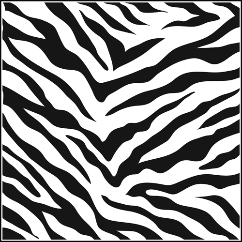 7 Images of Printable Zebra Pattern Template