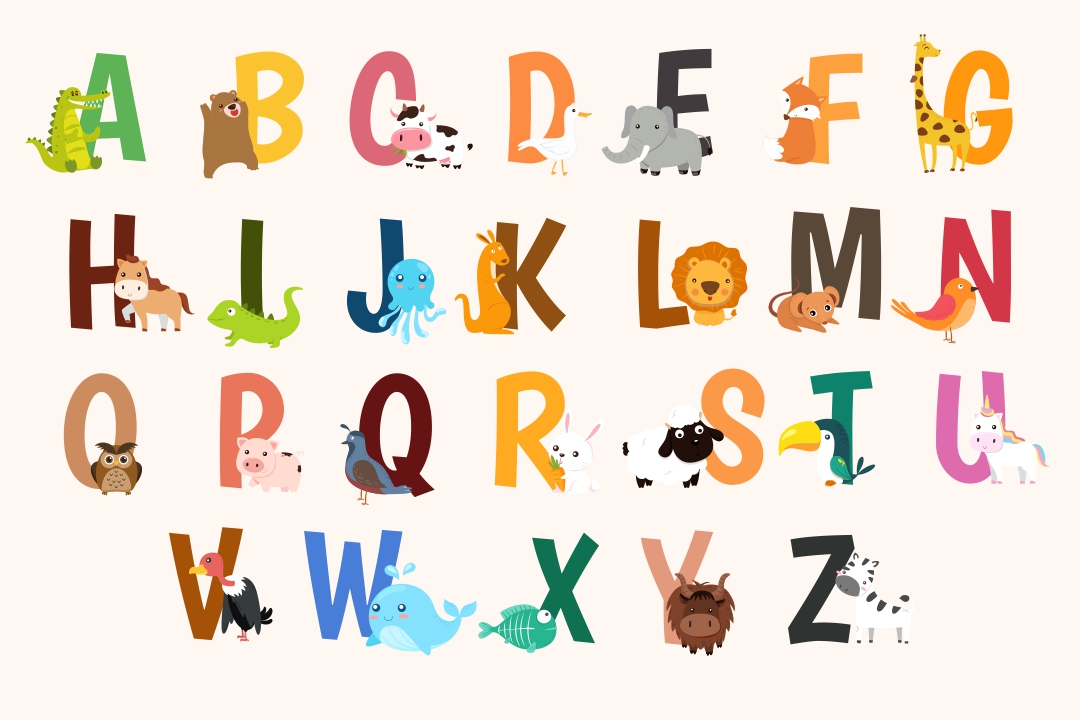 Zoo-phonics Alphabet