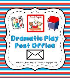 6 Images of Post Office Printables Kindergarten