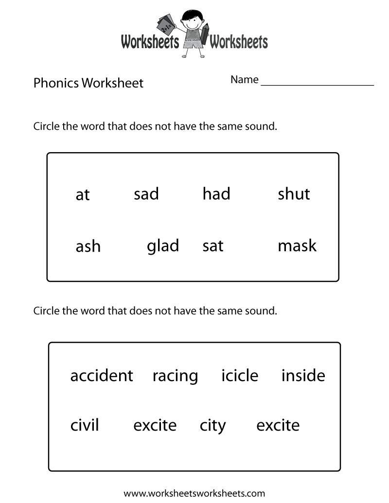 Worksheet Printable Reading Worksheets For 1st Grade 8 best images of first grade reading worksheets free printable 1st phonics worksheets