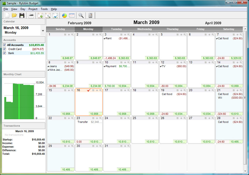 of Printable Budget Calendar - Free Printable Bill Calendar 2016, Free ...