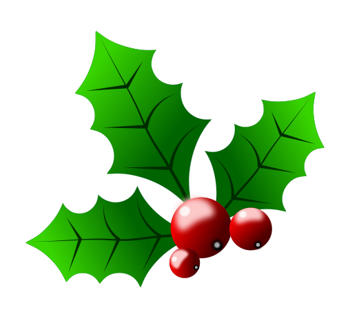 7 Images of Free Printable Christmas Holly