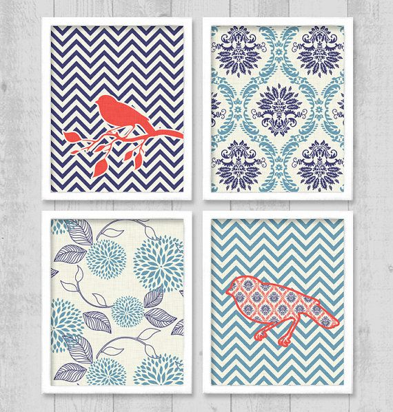 5 Images of Chevron Printable Wall Art