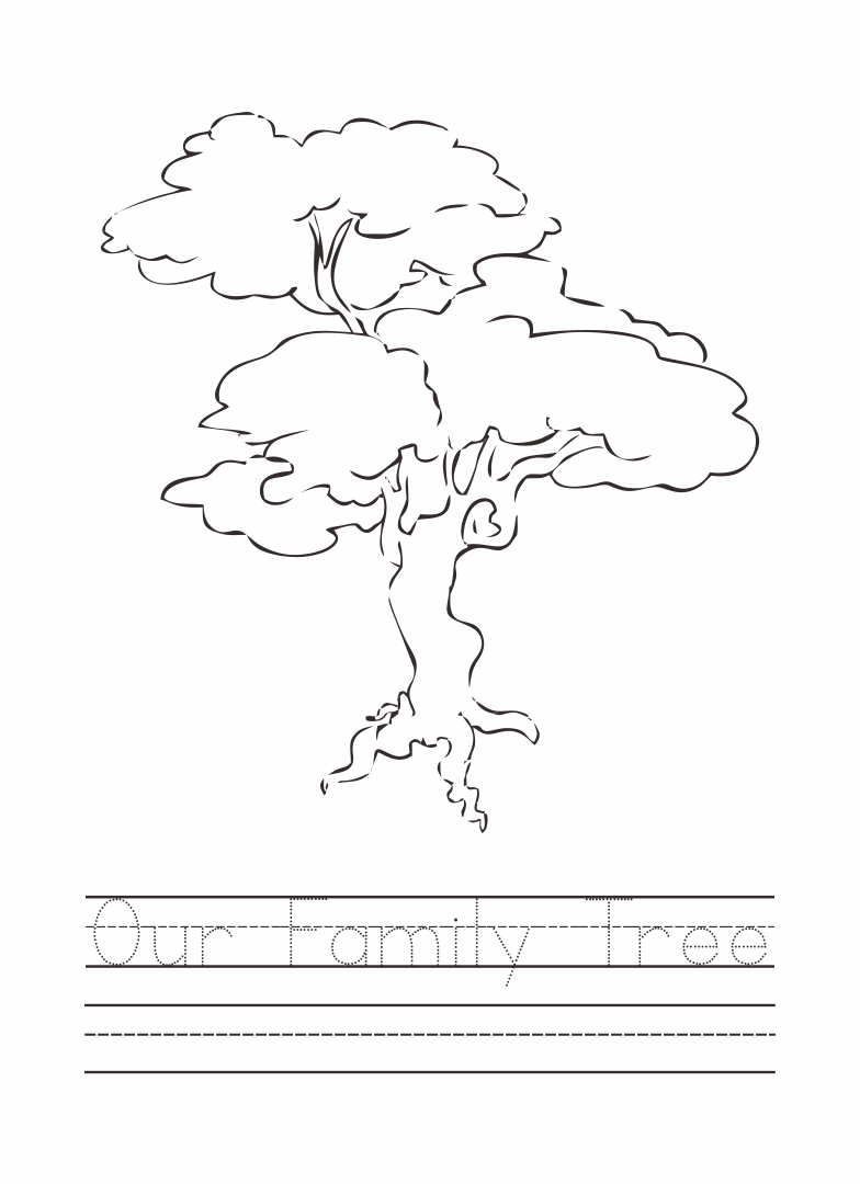 Printables Family Tree Worksheet Printable family tree worksheet printable intrepidpath 9 best images of worksheet