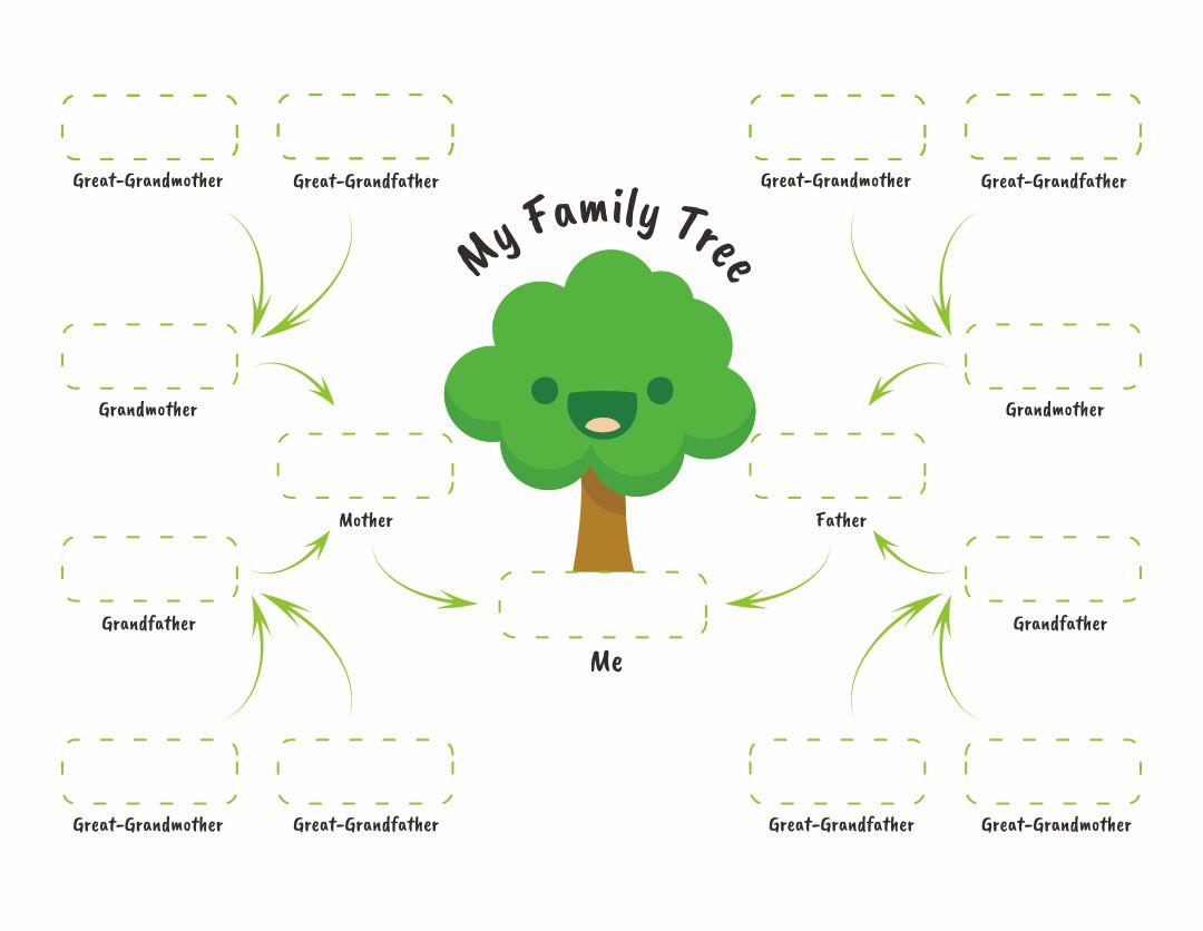 Family Tree Worksheets