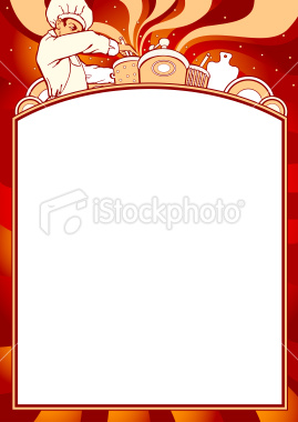 blank menu template free download
