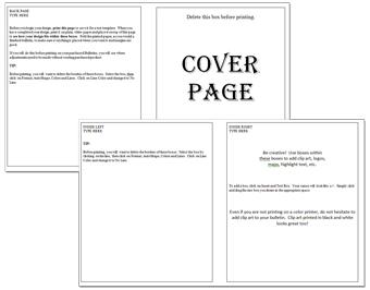 8 Images of Church Bulletin Templates Free Printable