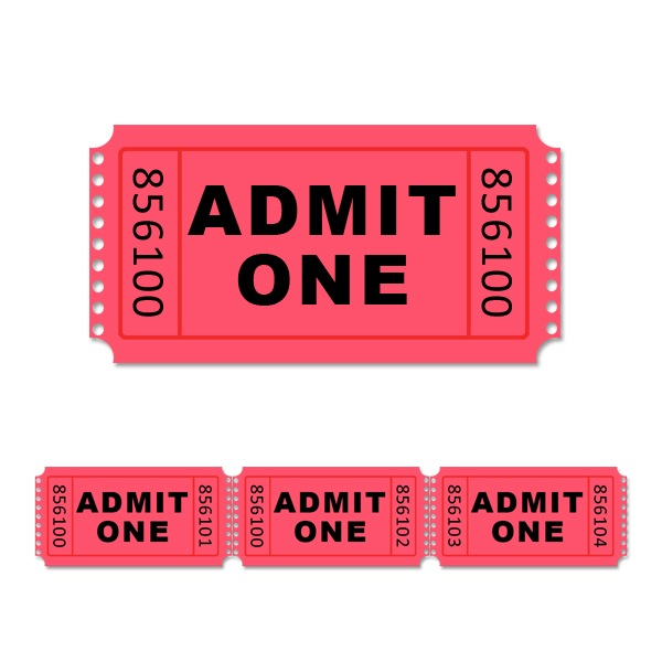 5 best images of admit one ticket template printable blank admit one ticket template free. Black Bedroom Furniture Sets. Home Design Ideas