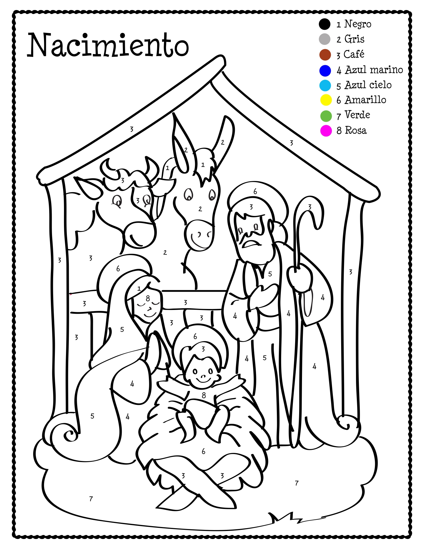 7 Best Images of Spanish Christmas Activities Printables ...