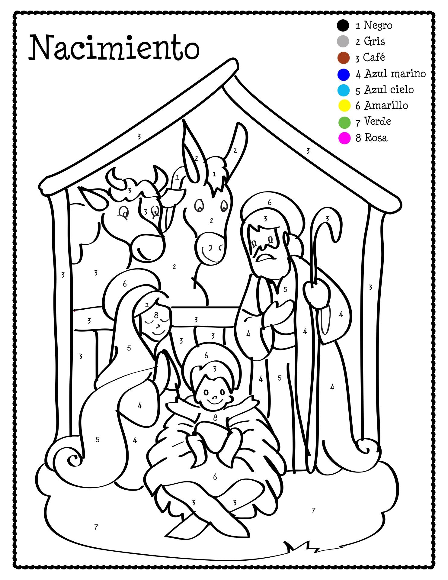 Number Names Worksheets christmas printable worksheets free : 7 Best Images of Spanish Christmas Activities Printables ...