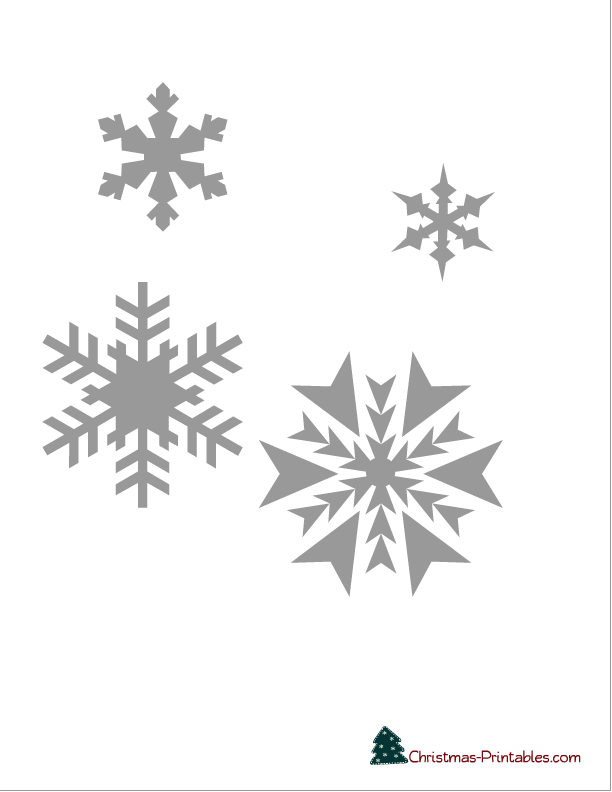 8 Images of Printable Christmas Stencils