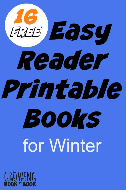 5 Images of Free Winter Printable Books
