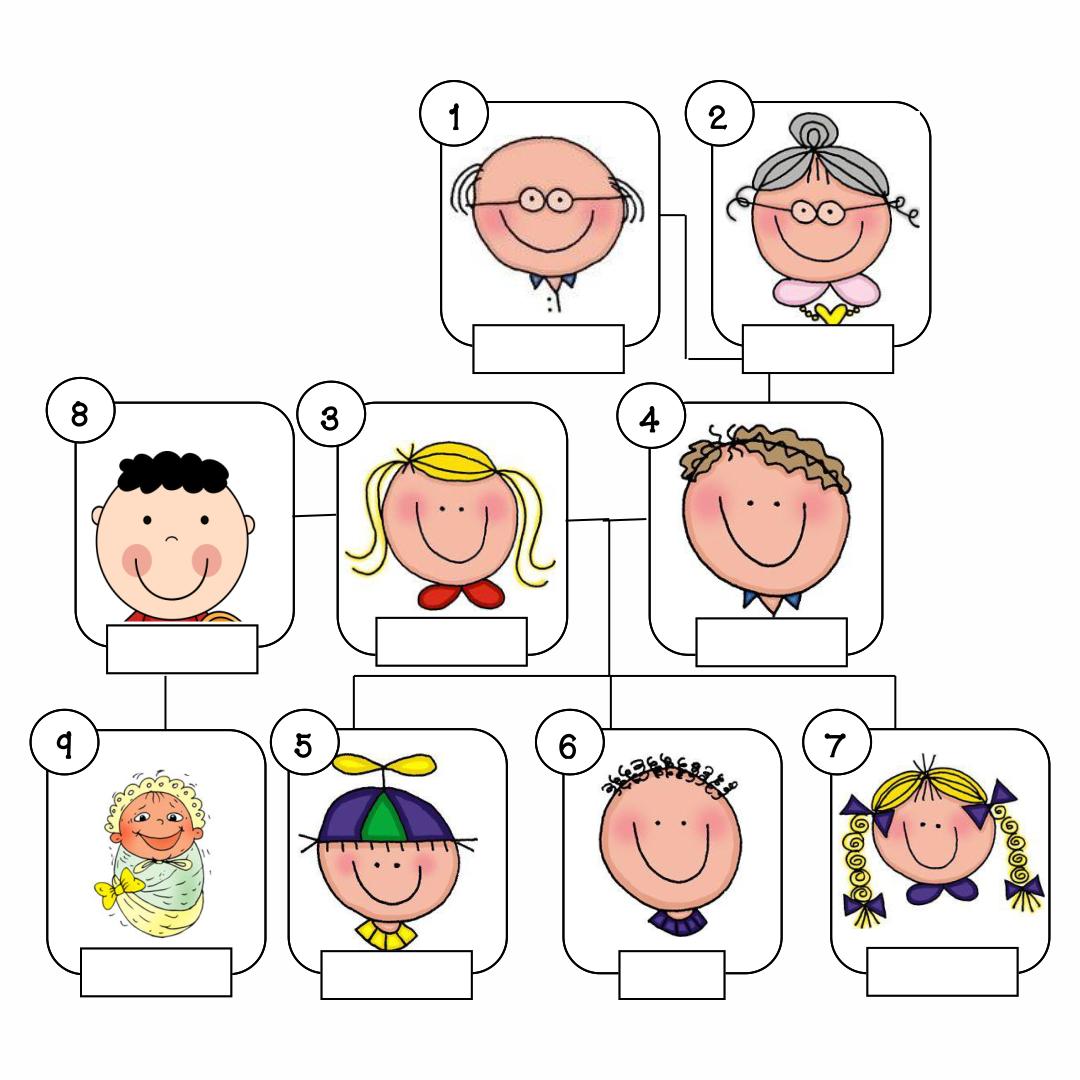 Printable Family Tree Worksheet