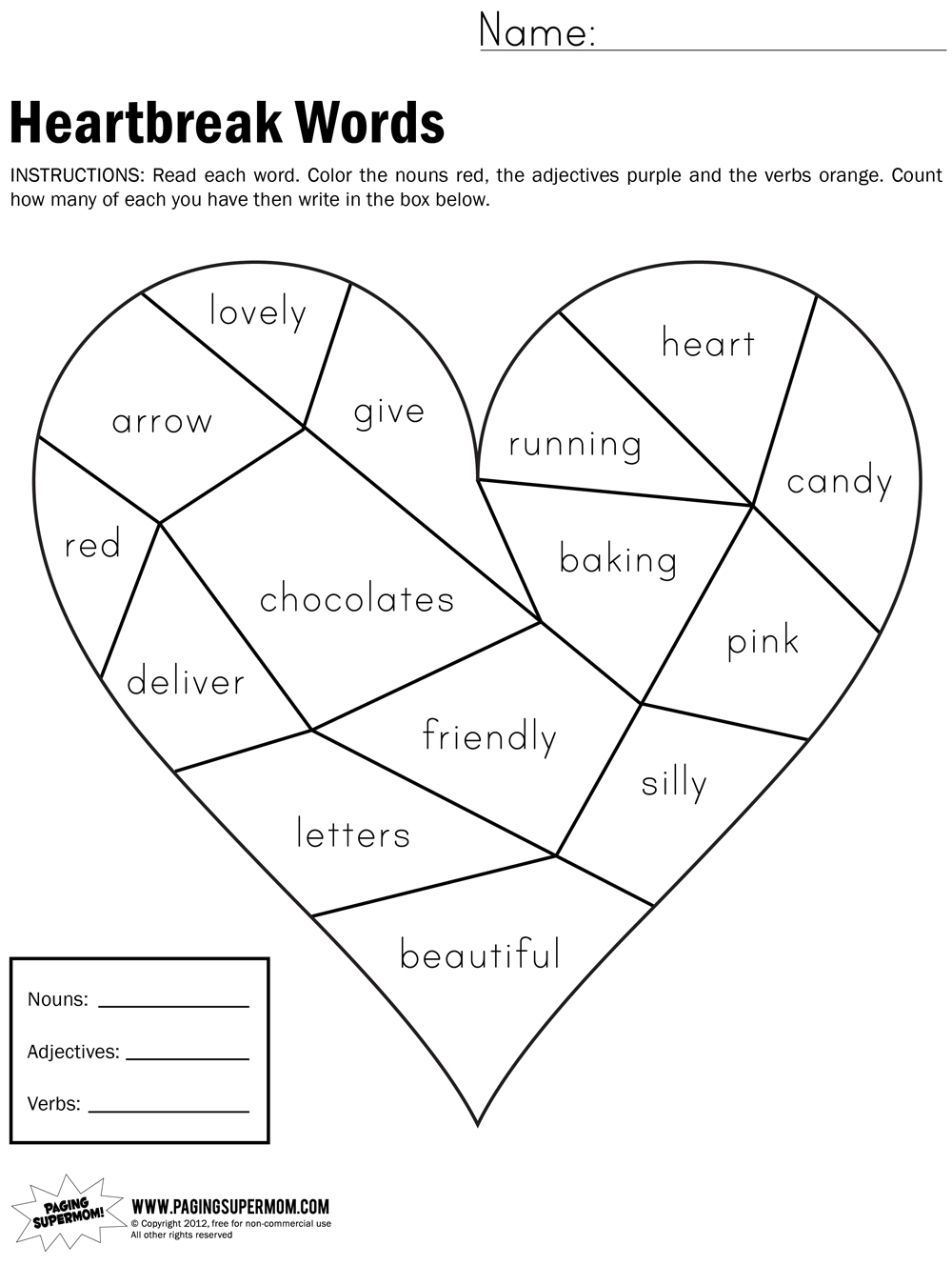 1st Grade Reading Printable Worksheets 8 best images of first grade ...