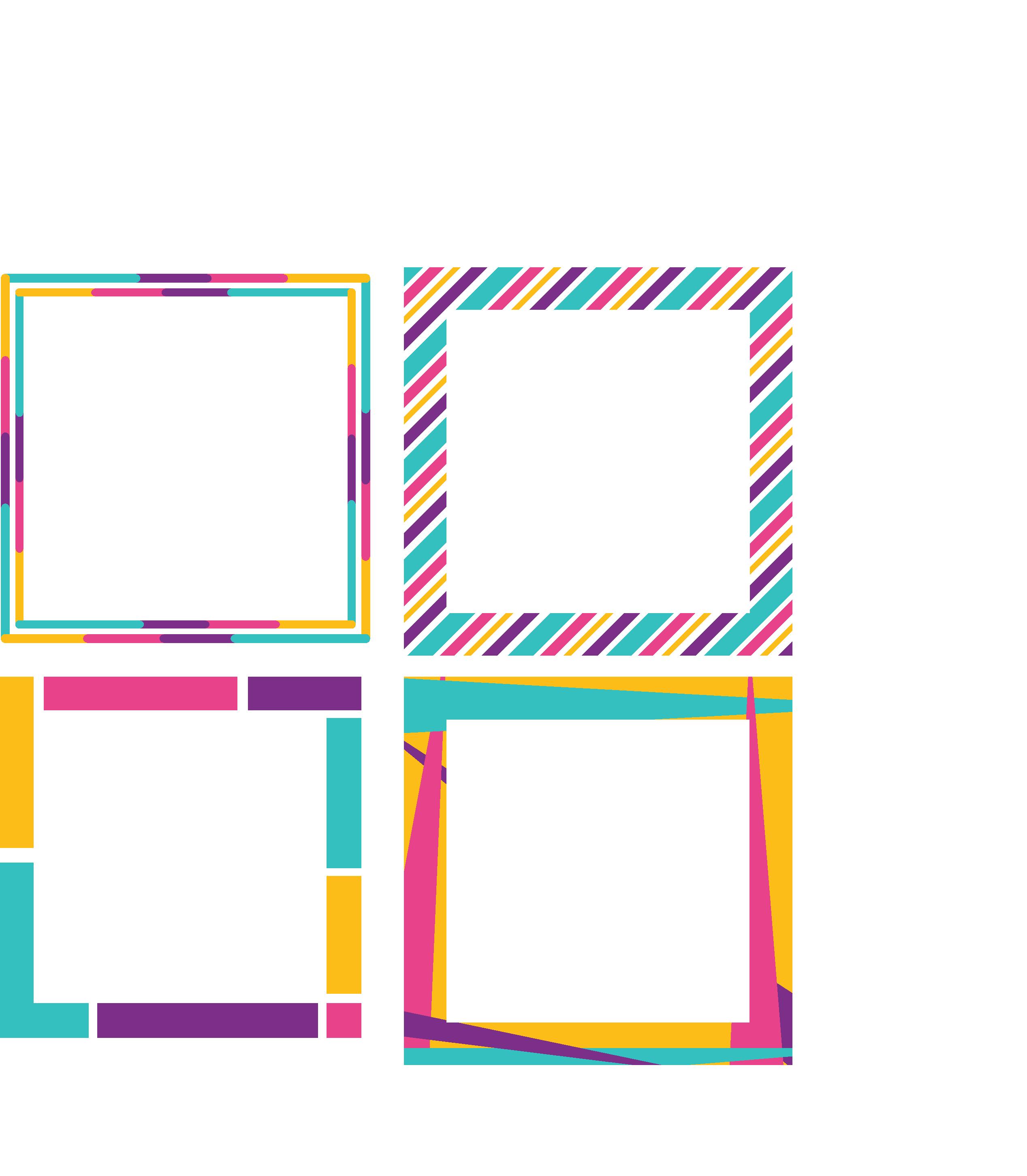 Printable Label Borders