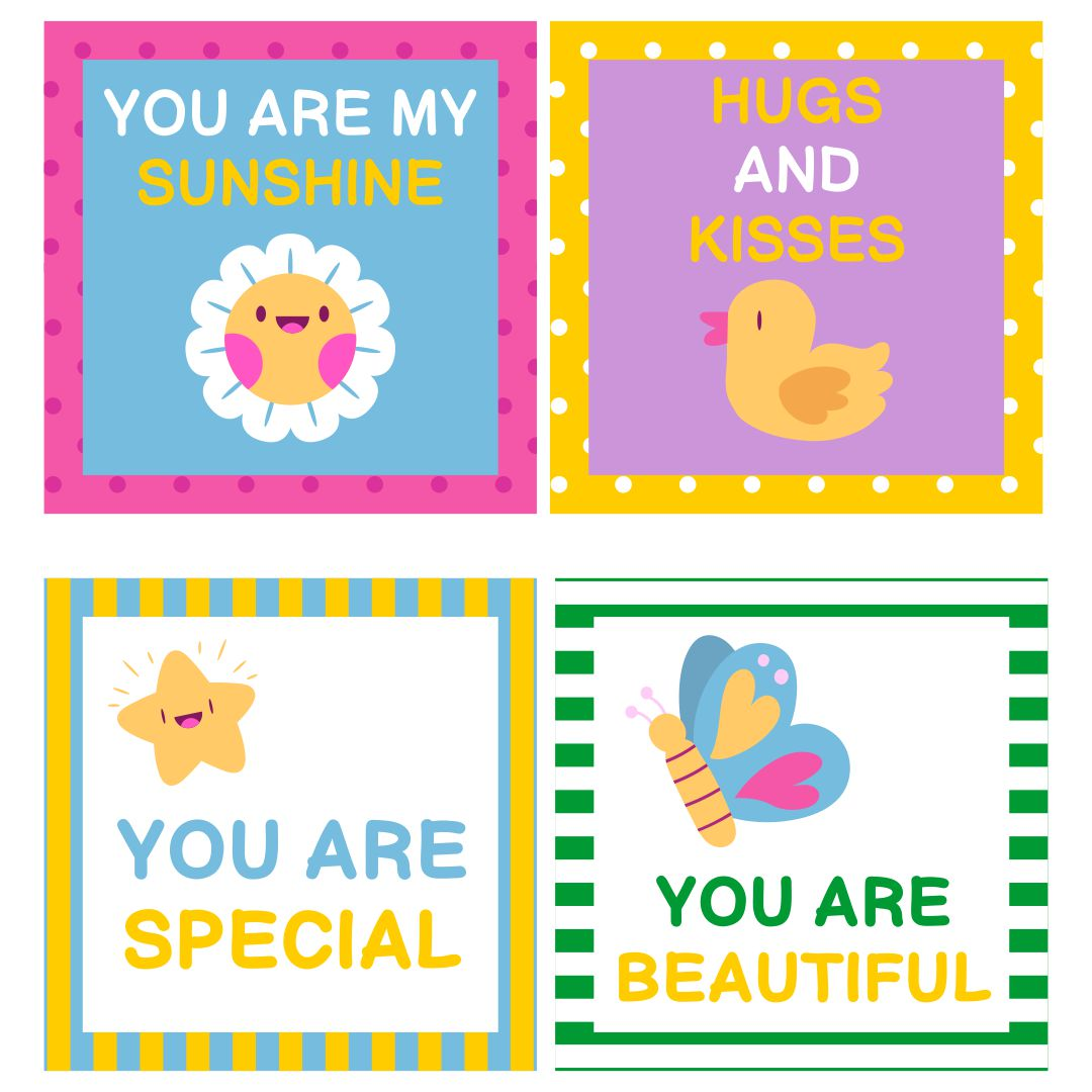 7 Images of Cute Printable Note