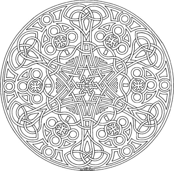 6 Images of Detailed Coloring Pages Printable