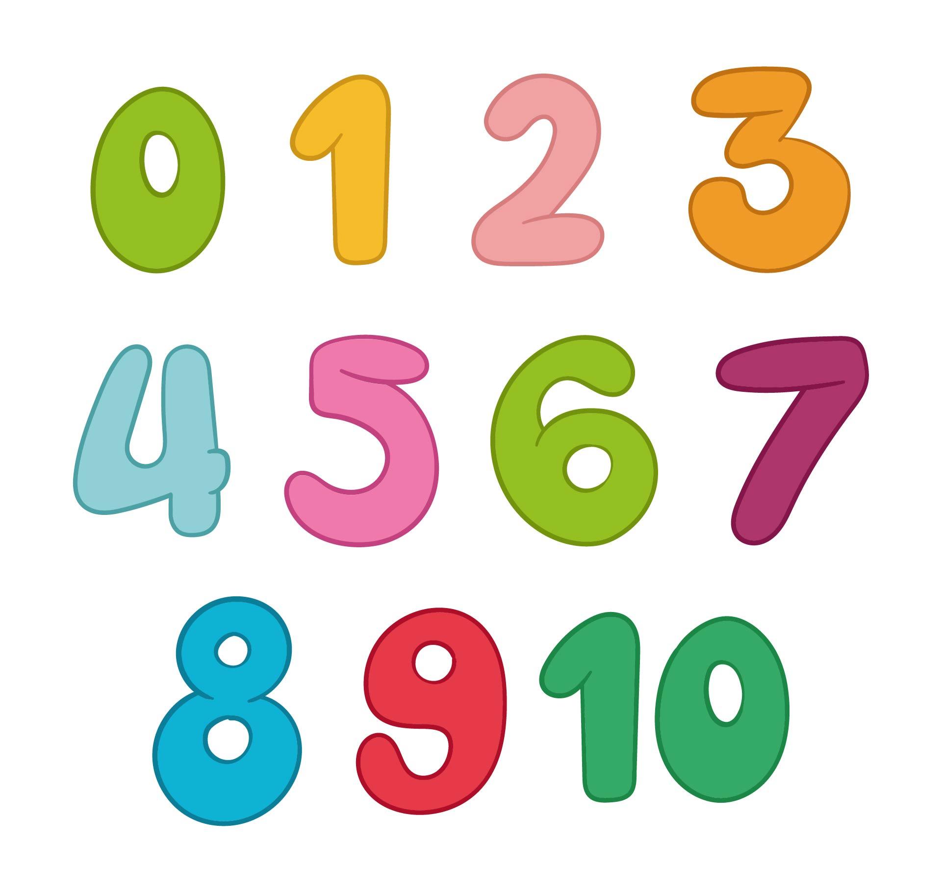 Number Names Worksheets printable numbers 1 to 10 : 7 Best Images of Printable Bubble Numbers 0-10 - Free Printable ...