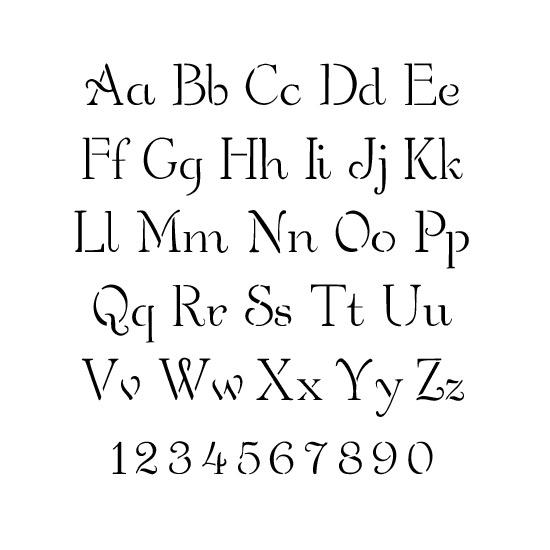 6 Images of Script Alphabet Stencils Printable