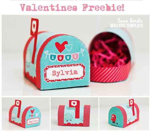 4 Images of Printable Valentine Mailbox
