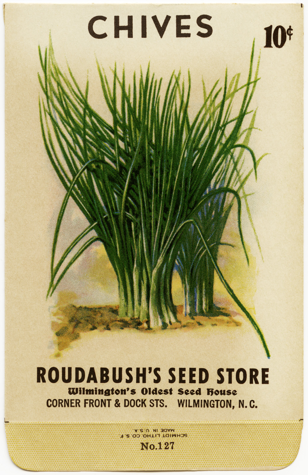 9 Images of Vintage Herb Seed Packets Printables