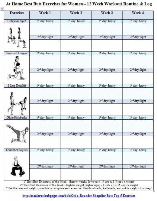 8 Images of Printable Workout Regimen