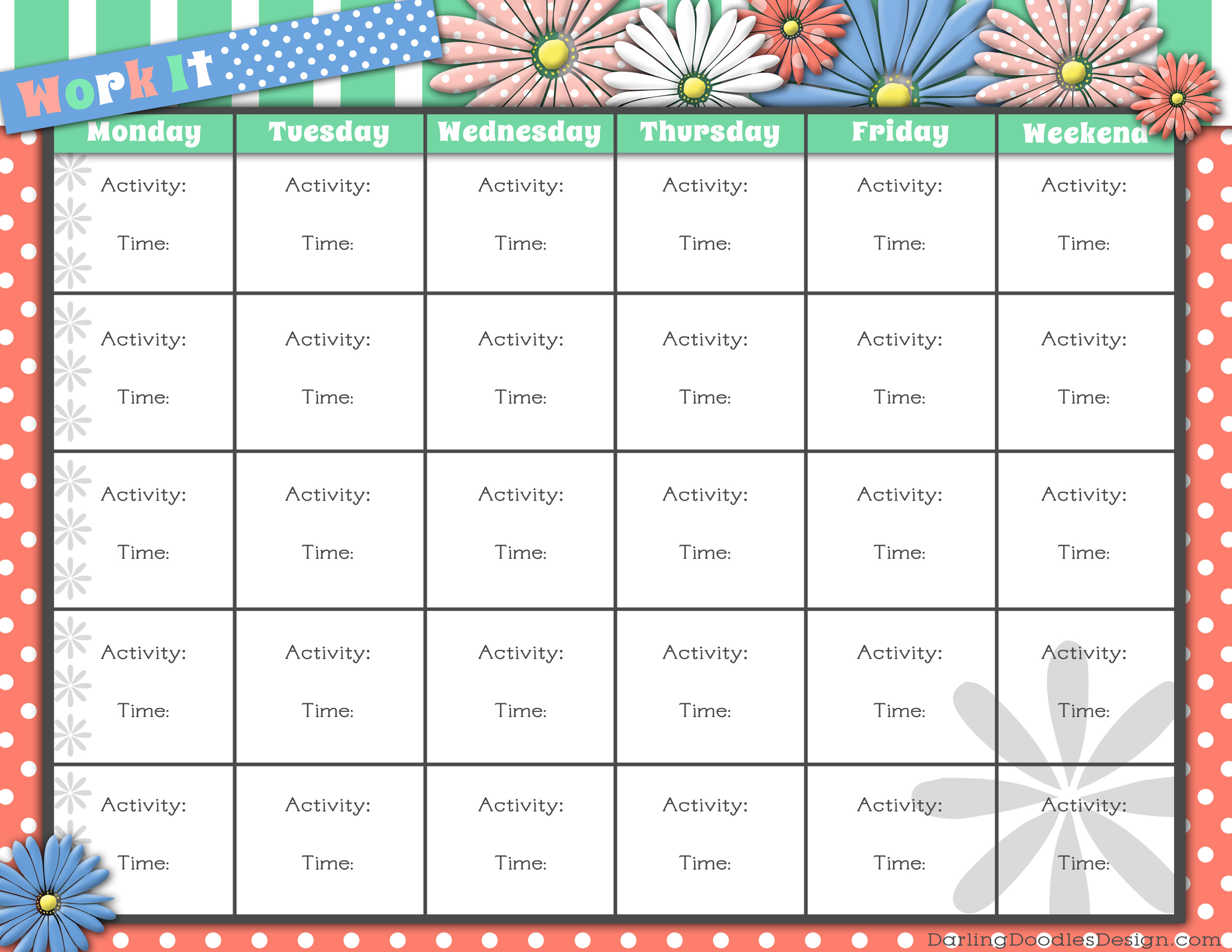 7 Best Images of Printable Workout Sheets Free Printable Workout – Printable Workout Sheet
