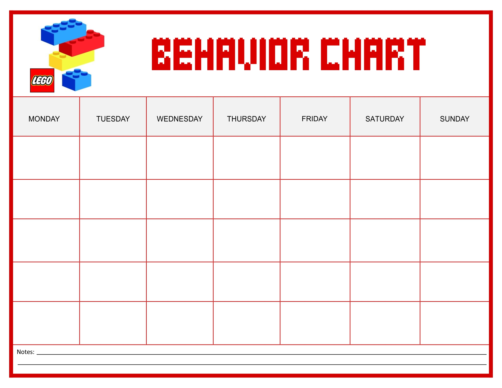 monthly behavior calendar template - 9 best images of free printable homework charts track