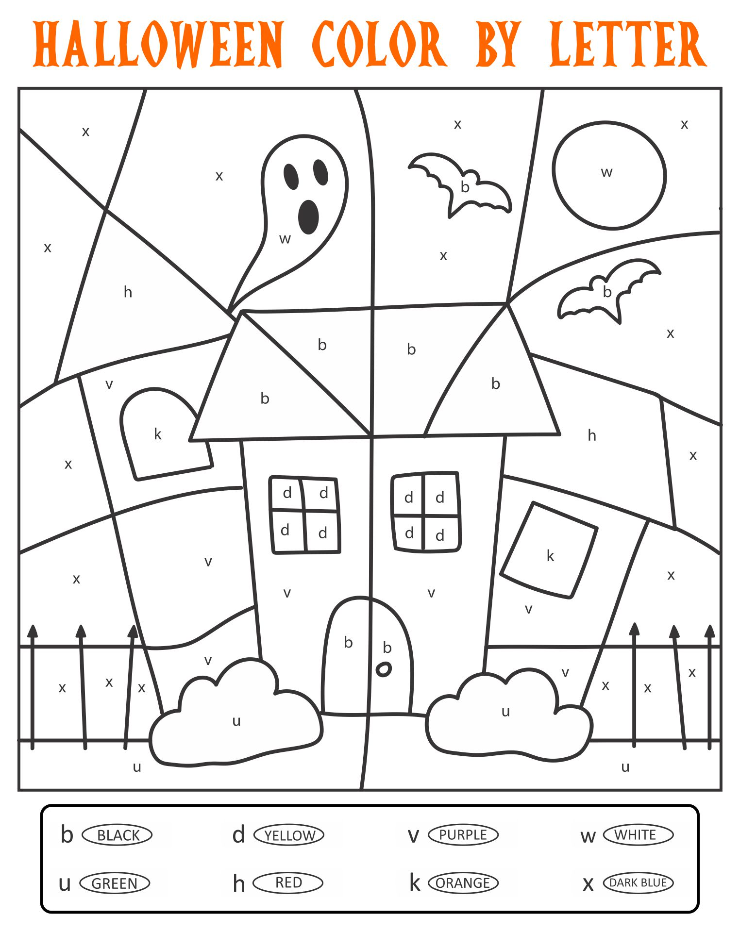 6 Images of Halloween Activities For Adults Printables