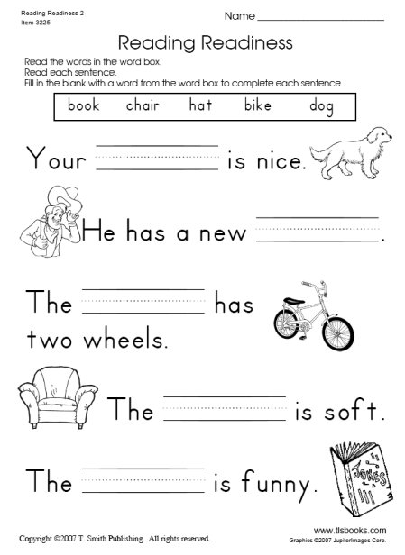 8 Best Images of First Grade Reading Worksheets Free Printable ...