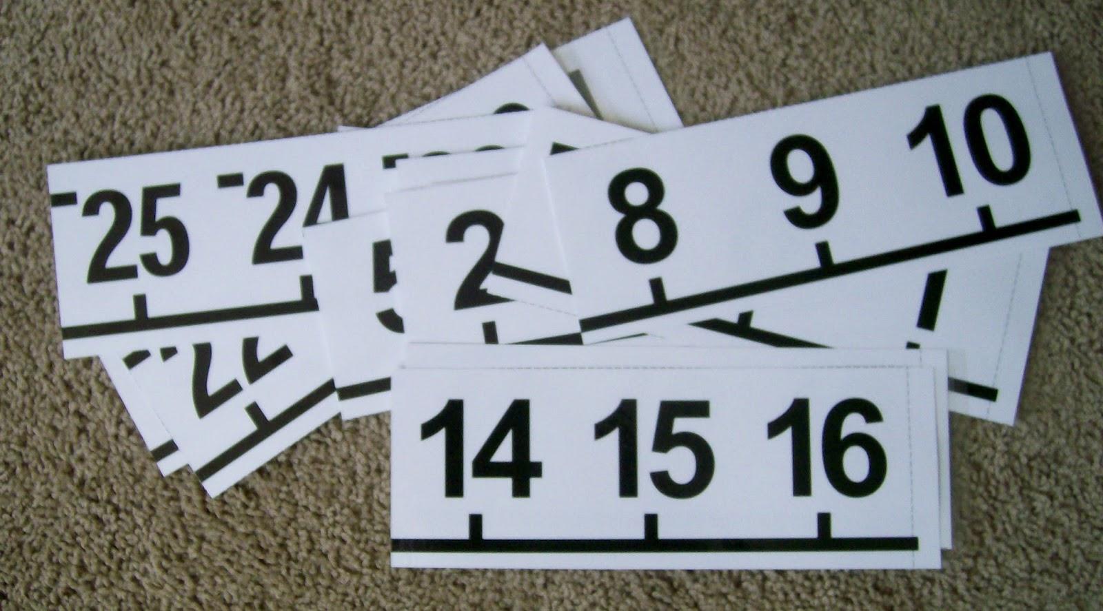 ... Printable Number Line 1-10, Large Printable Number Line and Free