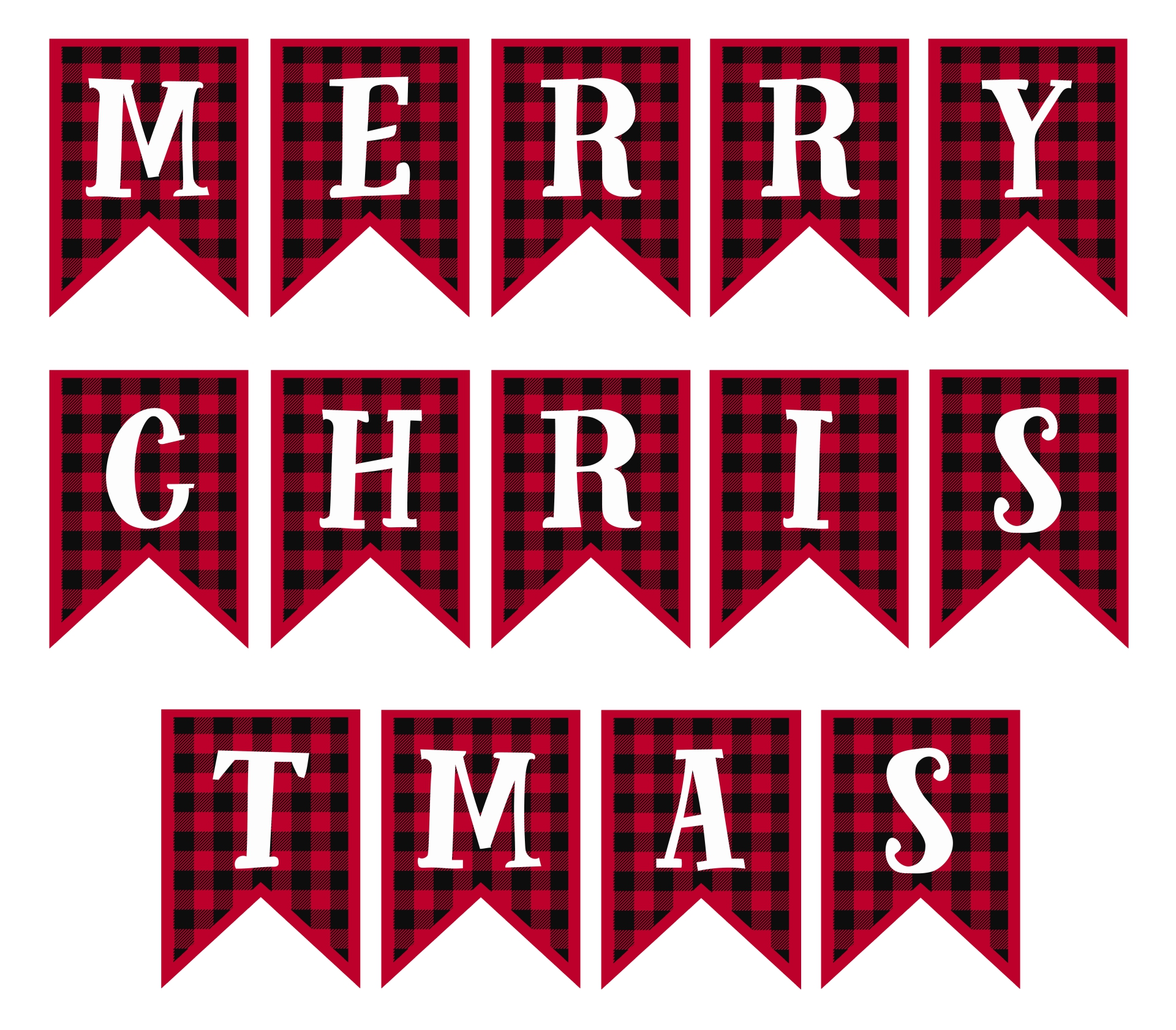 4 Images of Free Printable Merry Christmas Lettering