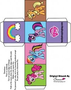 My Little Pony Free Printables Boxes