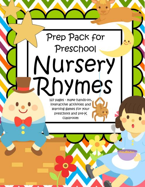 Nursery Rhyme Theme for Preschool Activities