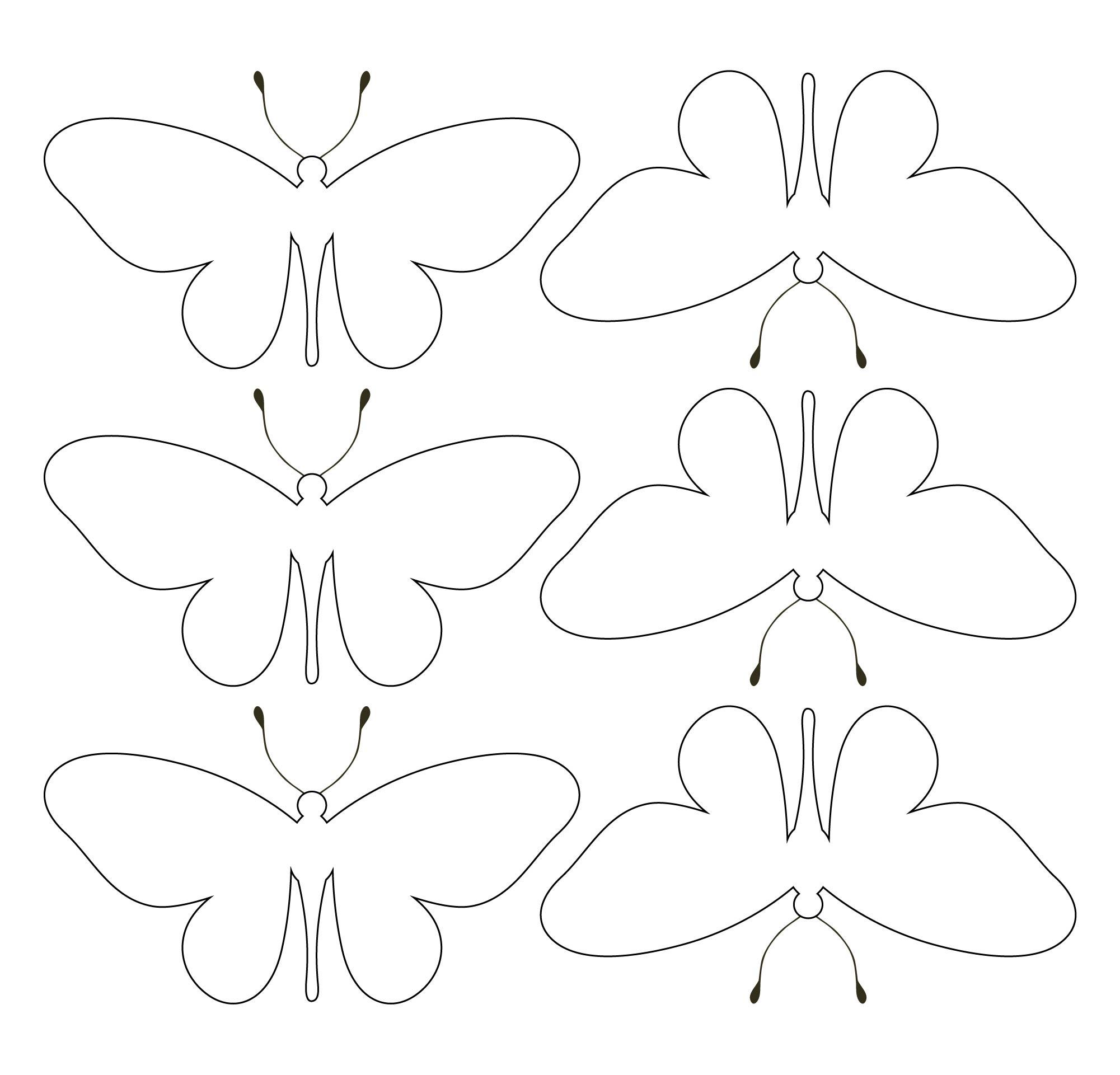 Printable Butterflies Patterns