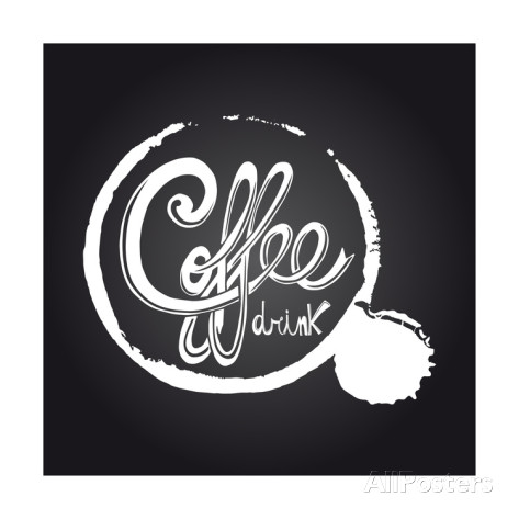 Printable Chalkboard Art Coffee
