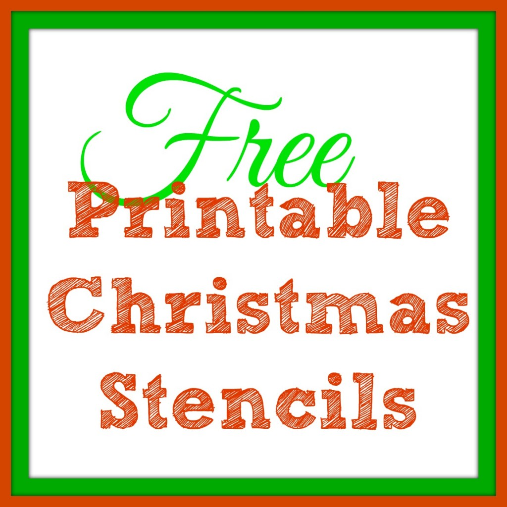 7 Images of Free Printable Christmas Stencils
