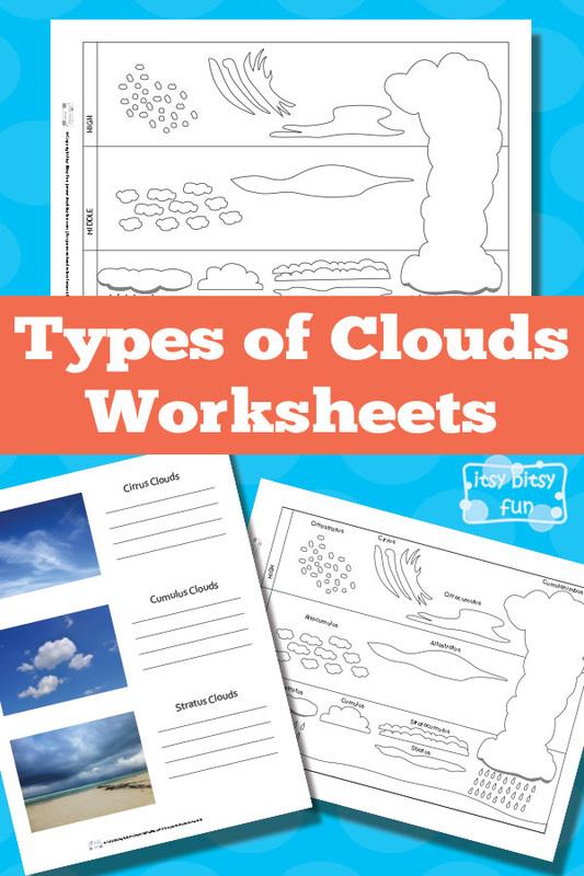 6 Best Images of Clouds Free Printable Worksheets - Free ...
