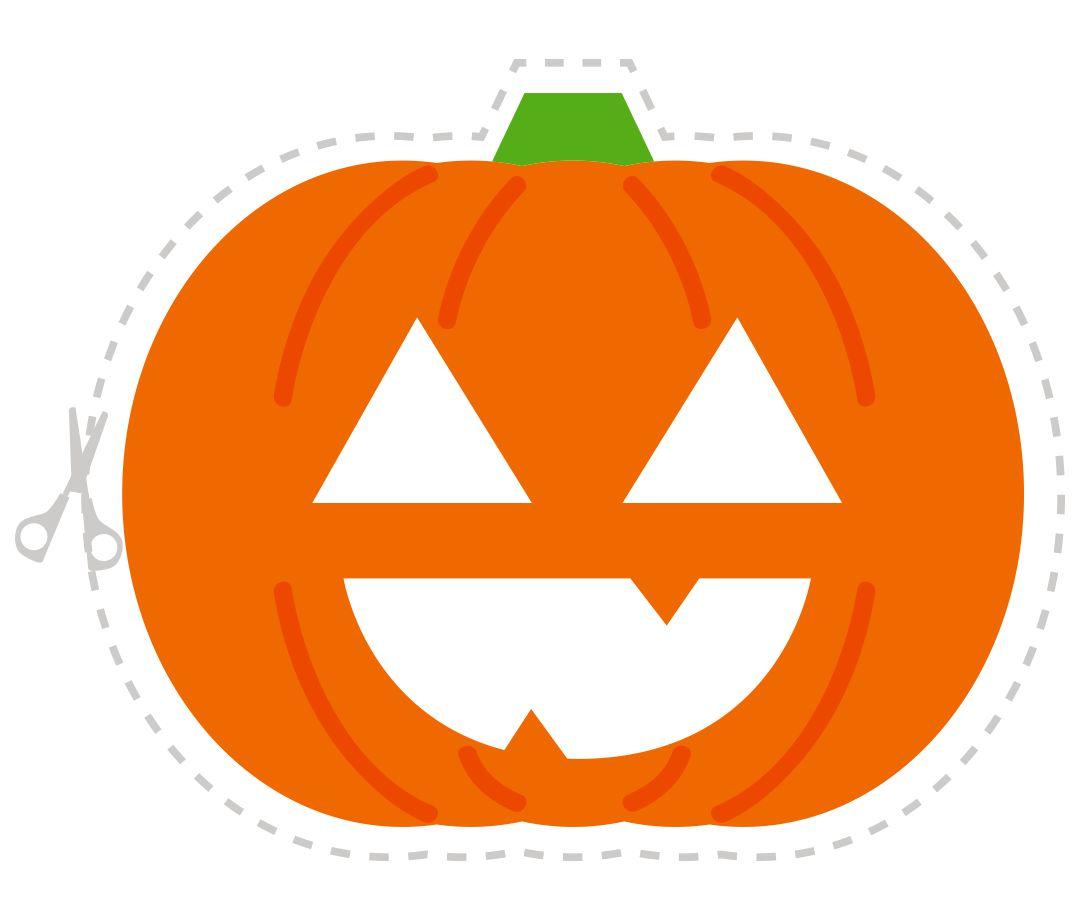 Printable Halloween Pumpkin Masks
