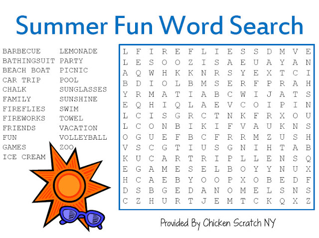 5 Images of Fun Word Search Printable