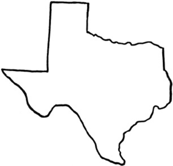 7 Images of Printable Outline Of Texas