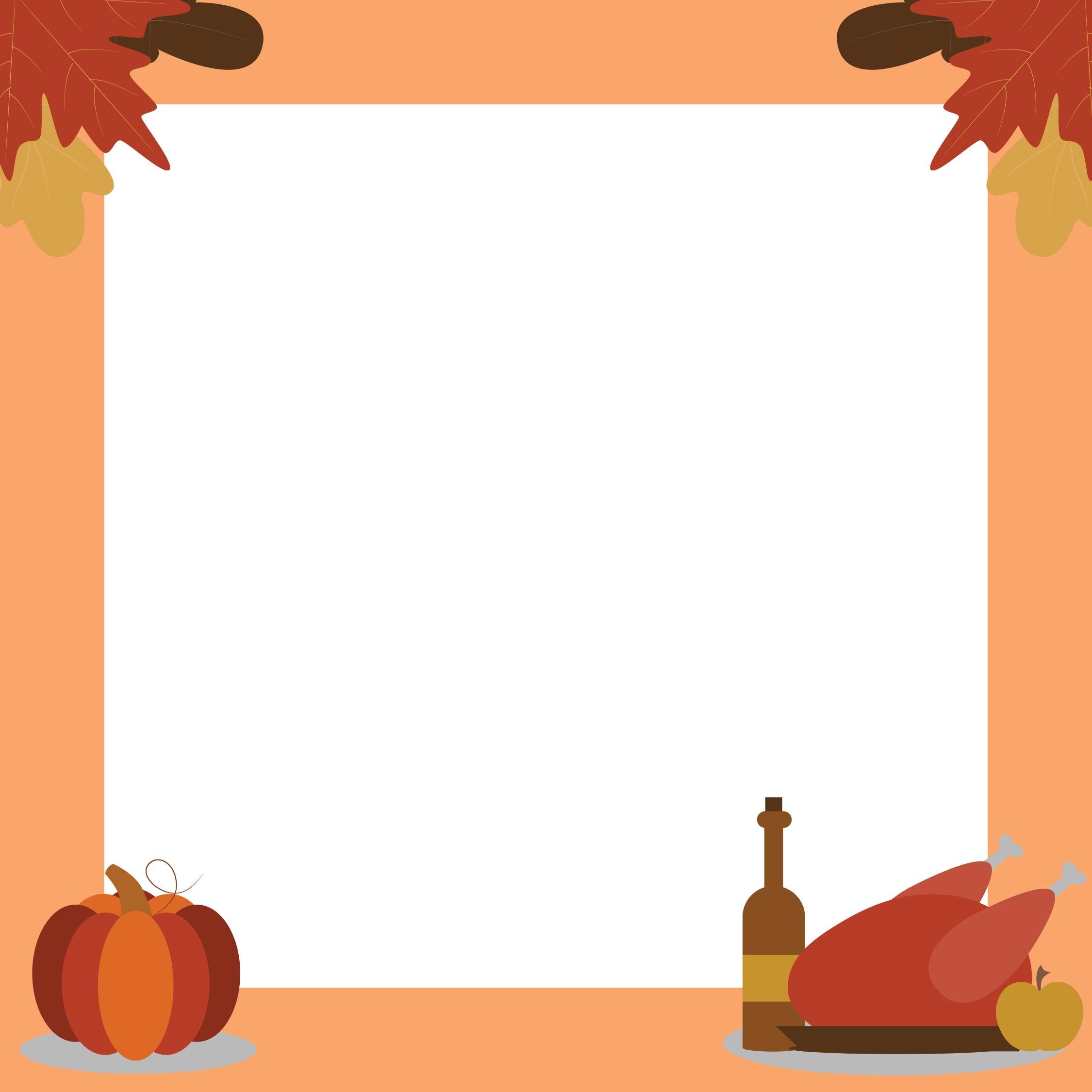 Thanksgiving Border Clip Art Download