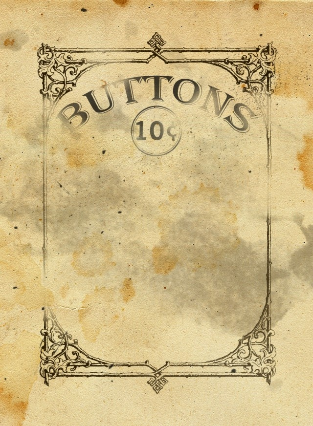 9 Images of Vintage Button Cards Printable
