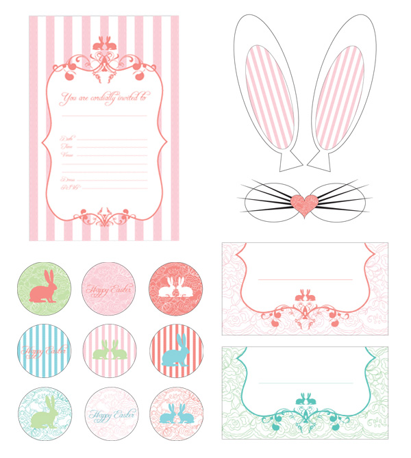 8 Images of Vintage Easter Printables Free